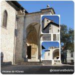 Iglesia de Santa Maria del Concejo en Llanes Asturias. En pleno Casco Histórico de la Villa