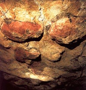 Pinturas rupestres en la cueva del Pindal