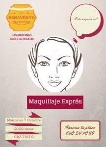 Taller de maquillaje Express en Llanes. Sala Cultural del Benavente