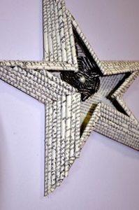 Estrella-con-papel-de-periodico-sala-benavente