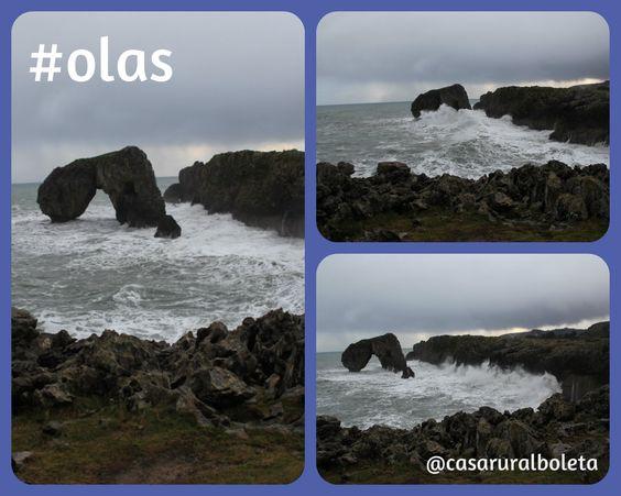 Temporal en la costa de llanes villahormes - Fotos Llanes