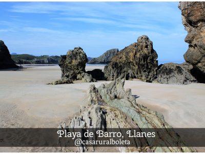 Playa de Barro, Llanes. Casa rural la Boleta