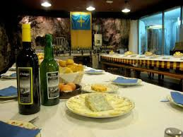 Espicha en la Ruta del queso y de la sidra en Asiego, Cabrales