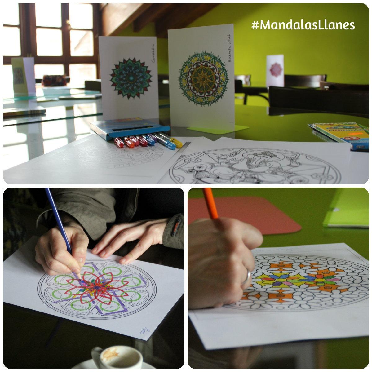 Jornada de Mandalas en Llanes. Casa rural en Llanes, la Boleta