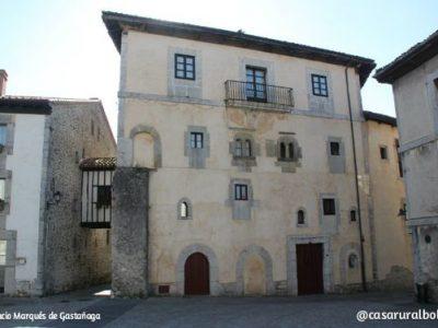 Palacio del Marques de Gastañaga en Llanes, Asturias