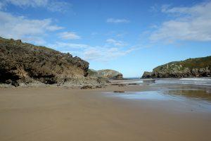 Playas de Llanes cerca de Casa Rural la Boleta