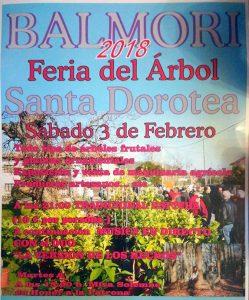 cartel fiestas llanes santa dorotea 2018 balmori 249x300 - Feria del Arbol Santa Dorotea en Balmori 2018