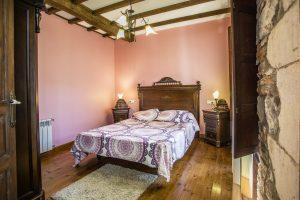 Casa Rural en Llanes, Asturias, La Boeta. Estancia Vidiago. Dormitorio. 620 72 42 79