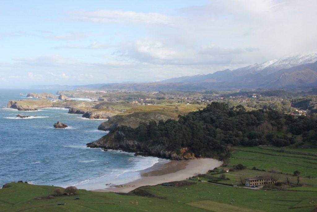 Vista de la Playa de Toranda